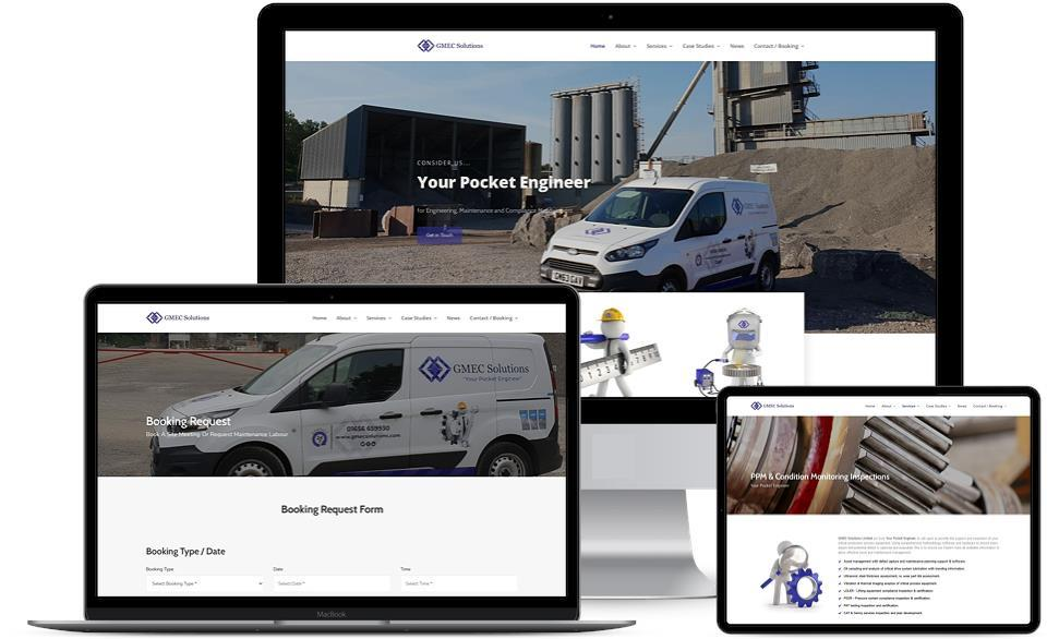 GMEC Solutions - New Website Goes Live
